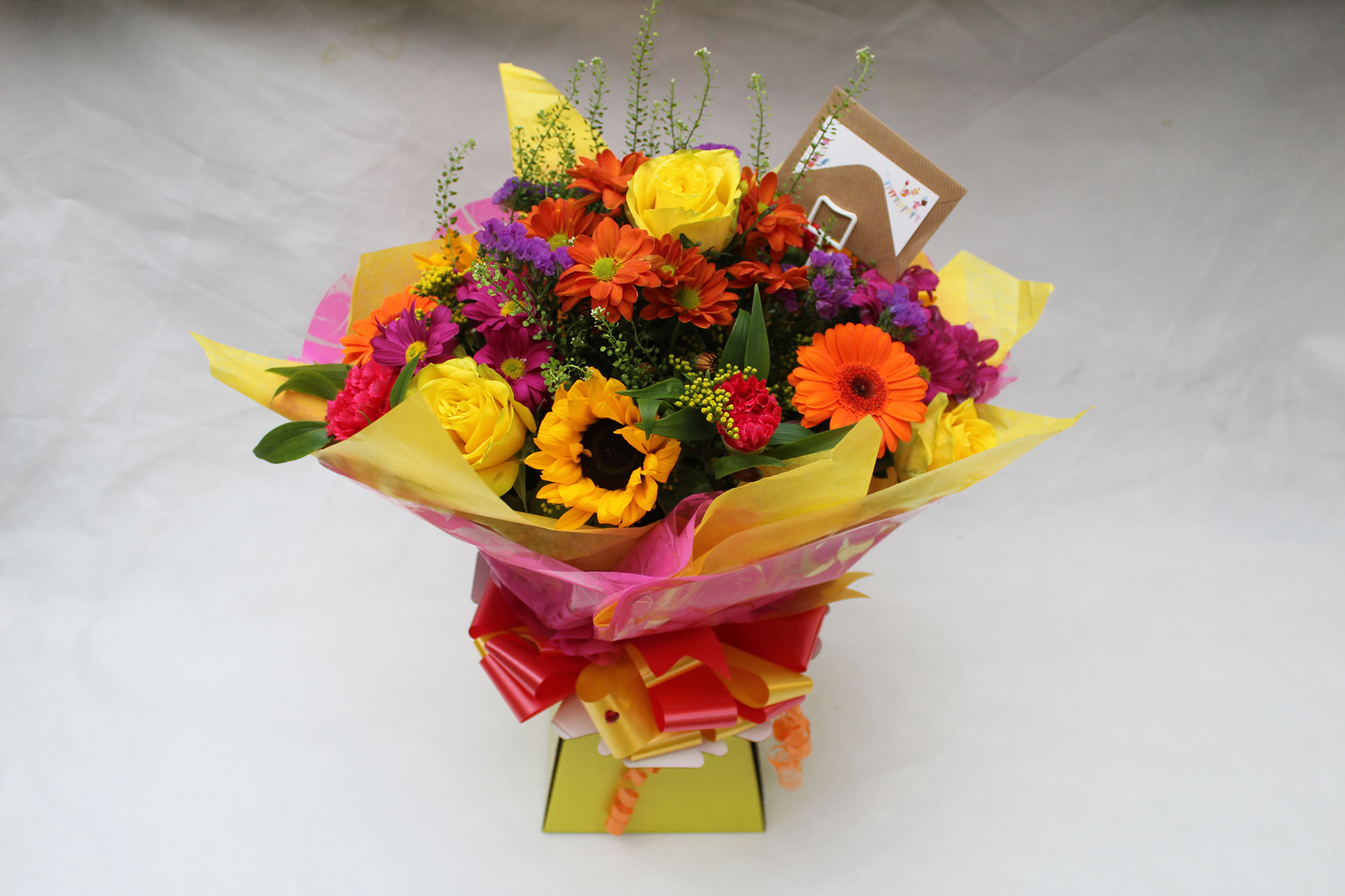Beautiful Bold Bouquet. the  perfect Bouquet for any occasion