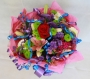Hand Tied Cluster Bouquet of Mixed Colours Image 1