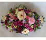 Basket Spray of Mixed Flowers and Colours Image 1
