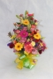 Front facing arrangement of Mixed Flowers and Colours Image 2