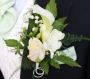 Wedding flowers button holes plymouth groom and best man button holes hunny b florist