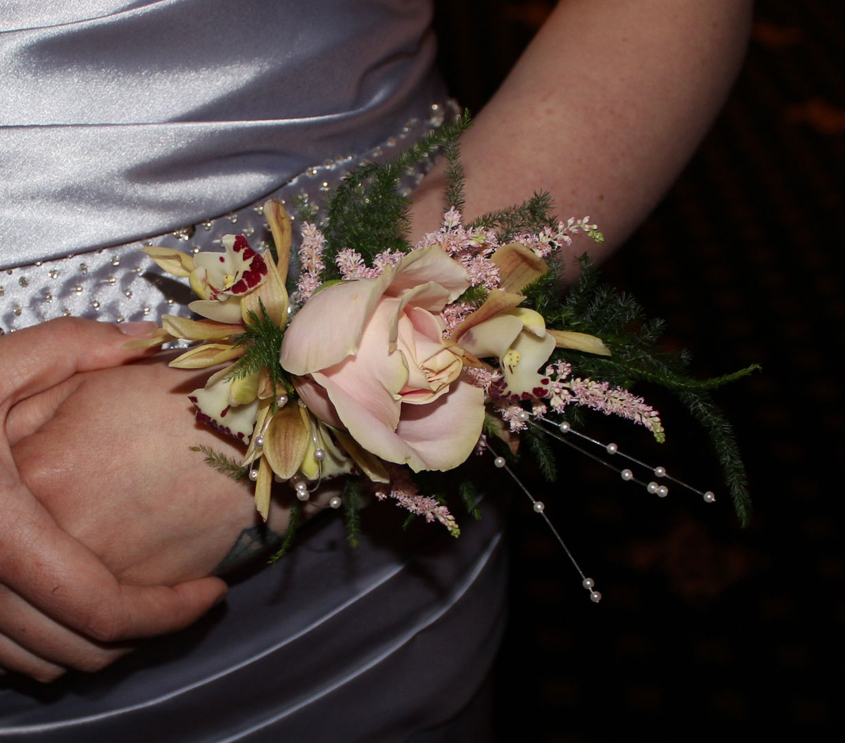 Wrist Corsage Suitable for Weddings or Proms