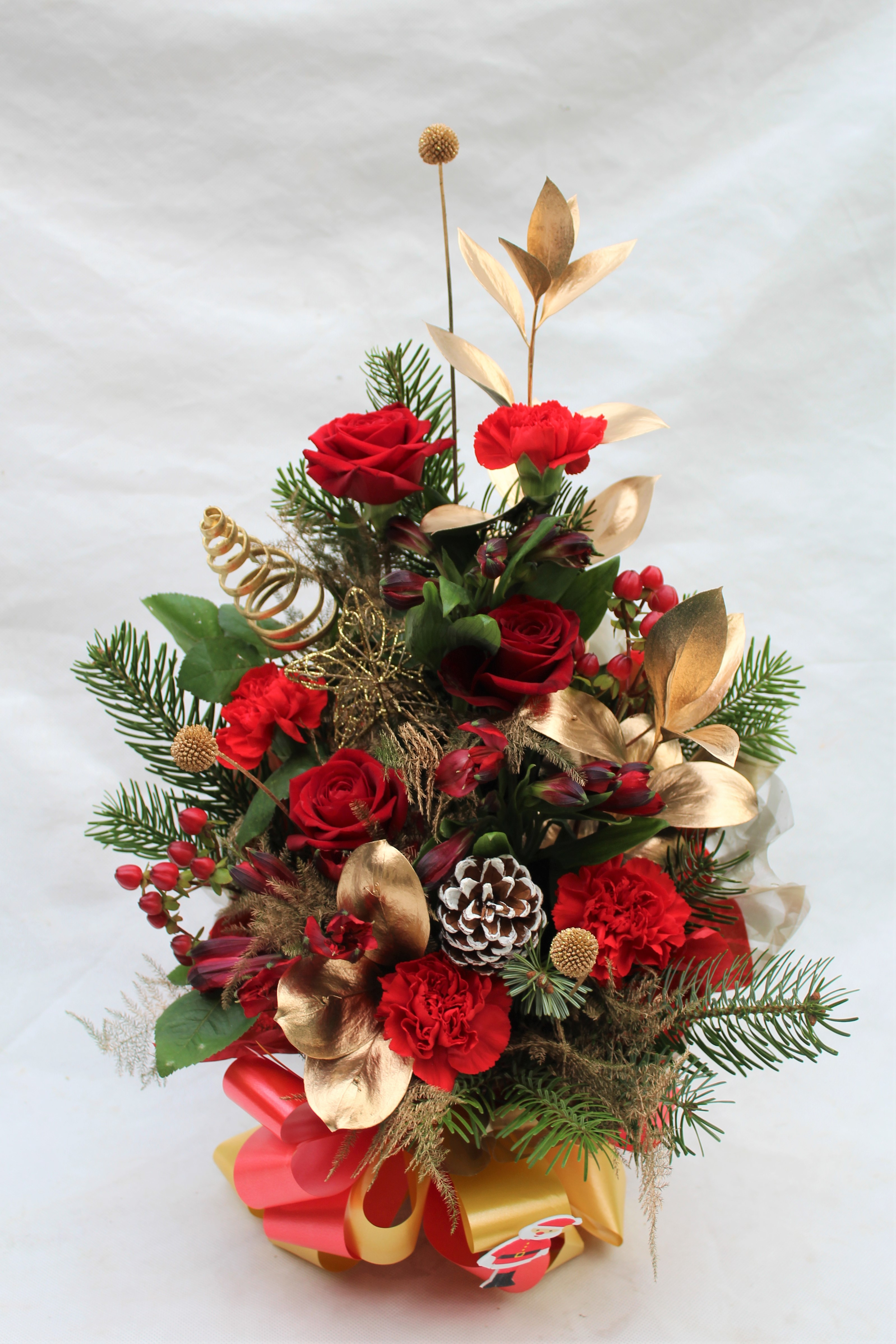 CHRISTMAS FRONT FACING ARRANGEMENT
