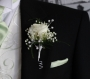 Wedding flowers  plymouth button holes groom and best man button holes hunny b florist